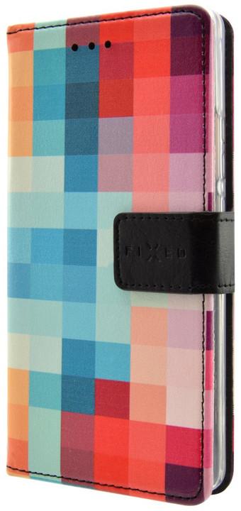 FIXED Opus pouzdro typu kniha pro Lenovo Vibe C2 Power, motiv Dice