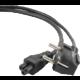 Gembird CABLEXPERT kabel napájecí pro notebook 3pin, 1,8m