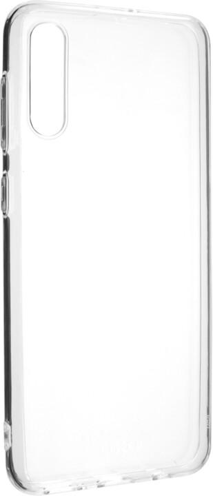 FIXED ultratenké TPU gelové pouzdro Skin pro Samsung Galaxy A50s/A30s, 0,6 mm, čiré