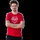 Tričko GEEK pánské, červené (L)