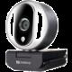 Sandberg Streamer USB Webcam Pro, stříbrná