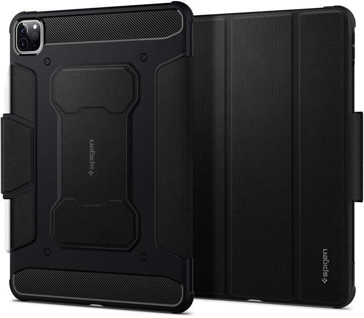 "Spigen ochranný kryt Rugged Armor pro iPad Pro 11"" (2018/2020), černá"