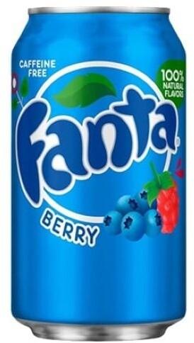 Fanta Berry, limonáda, lesní plody, 355 ml