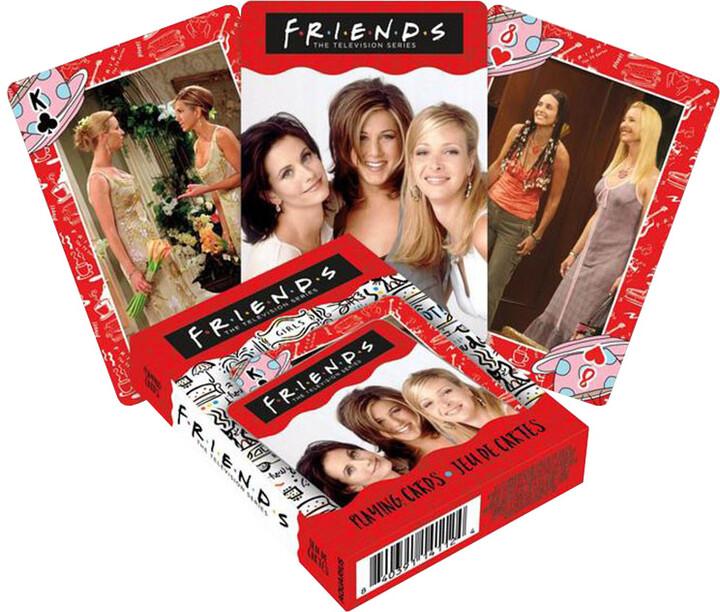 Herní karty Friends - Girls