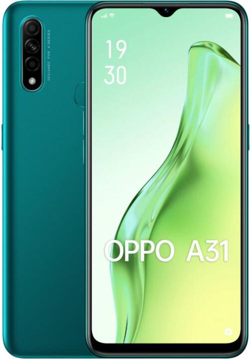 Oppo A31, 4GB/64GB, Green