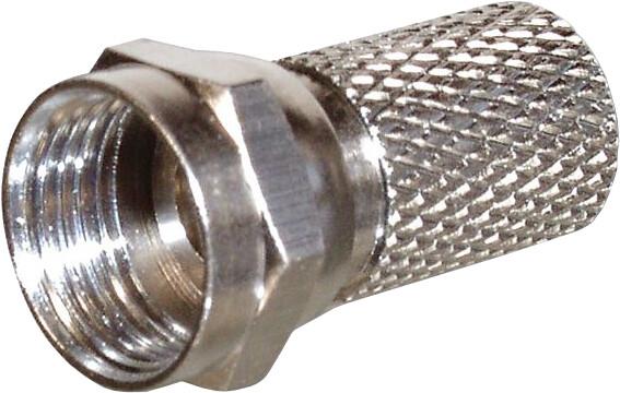 PremiumCord Sat. F-konektor, na kabel 6.5mm Cut Version, délka 20mm
