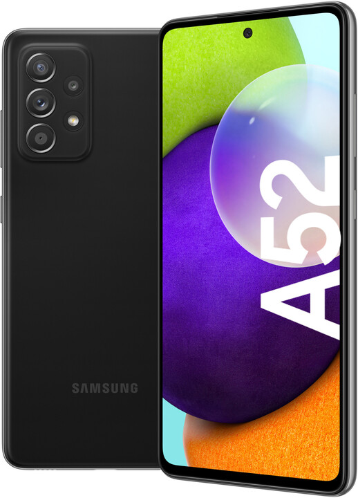 Samsung Galaxy A52, 8GB/256GB, Awesome Black