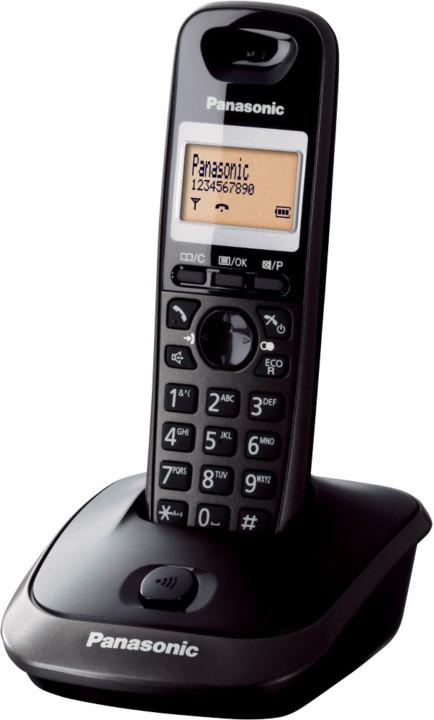 Panasonic DECT KX-TG2511FXT, černá