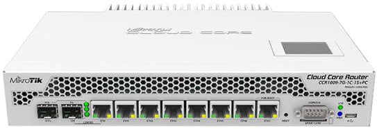 Mikrotik Cloud Core Router CCR1009