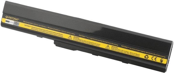 Patona baterie pro ASUS, A32-K52 4400 mAh 10,8V