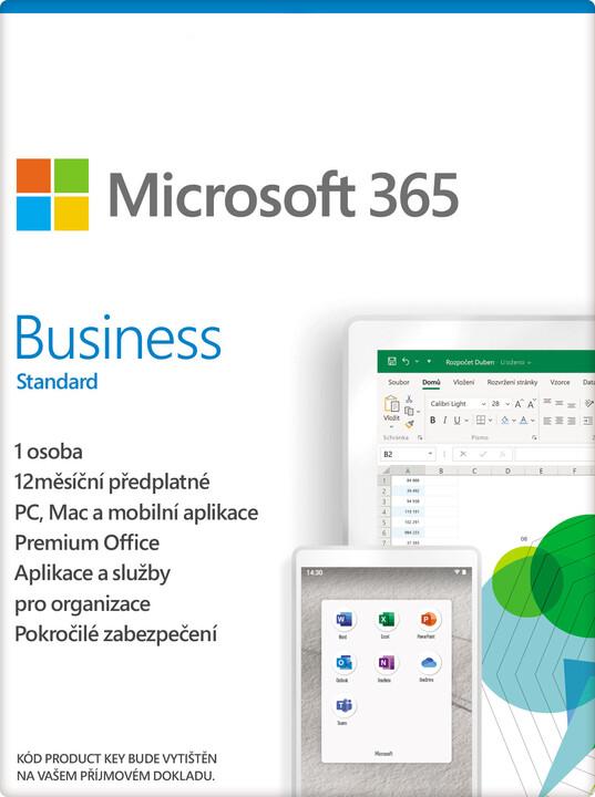Microsoft 365 Business Standard 1 rok - elektronicky