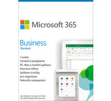 Microsoft 365 Business Standard 1 rok - elektronicky - KLQ-00211