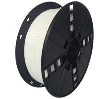 Gembird tisková struna (filament), PETG, 1,75mm, 1kg, bílá