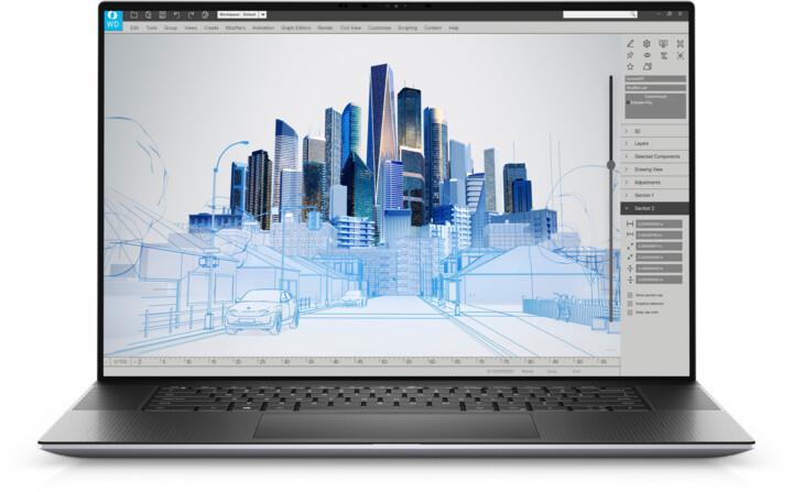 Dell Precision 17 (5760), šedá