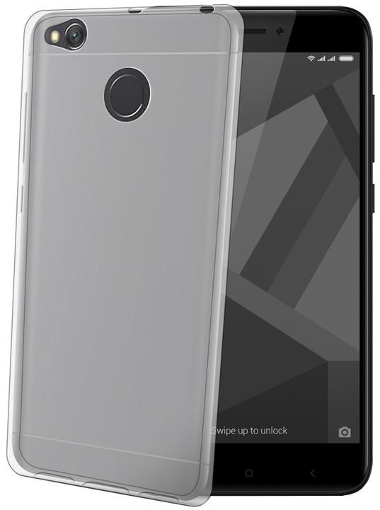CELLY Gelskin TPU pouzdro pro Xiaomi Redmi 4X, bezbarvé