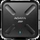 ADATA SD700, USB3.1 - 256GB, černá