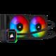 Corsair iCUE H100i ELITE CAPELLIX, 2x120mm RGB