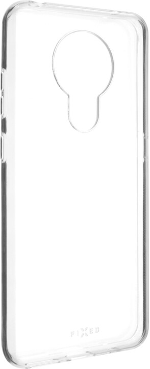 FIXED ultratenké TPU gelové pouzdro Skin pro Nokia 5.3, 0.6 mm, čirá