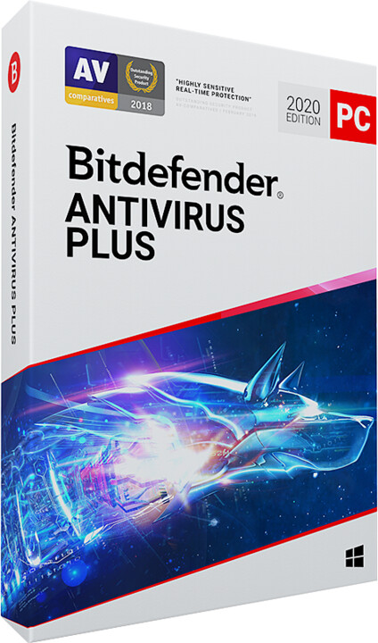 Bitdefender Antivirus Plus - 1 licence (24 měs.)
