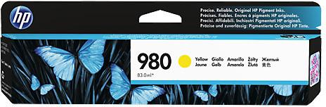 HP D8J09A náplň č.980, žlutá