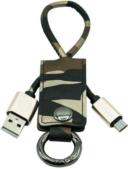 MIZOO USB/ microUSB klíčenka K2-10, kamufláž