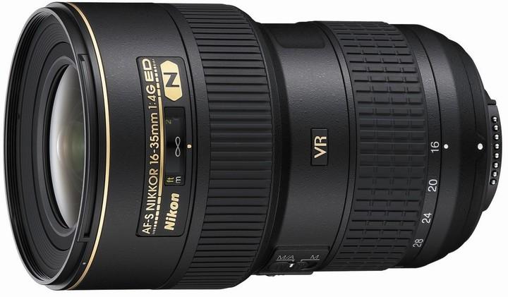 Nikon objektiv Nikkor 16-35mm f/4G AF-S VR ED