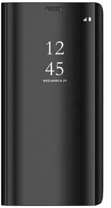 Forever flipové pouzdro smart Clear View pro Xiaomi Redmi 9, černá