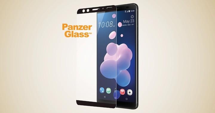 PanzerGlass Edge-to-Edge pro HTC U12+ černé