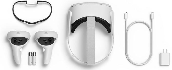 Obsah balení Oculus