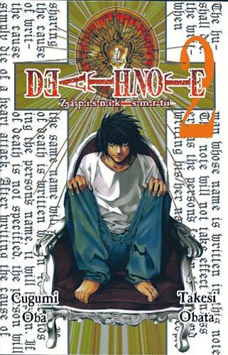 Komiks Death Note - Zápisník smrti, 2.díl, manga