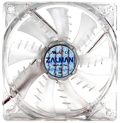 Zalman ZM-F1 LED SF 80mm, 2000rpm