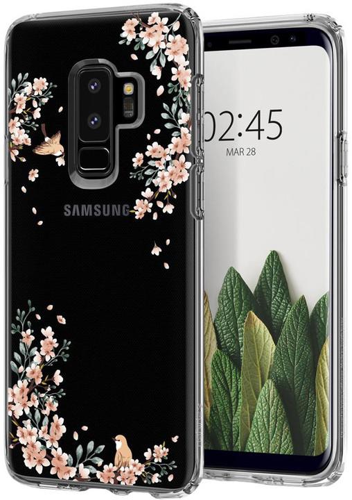 Spigen Liquid Crystal Blossom pro Samsung Galaxy S9+, nature