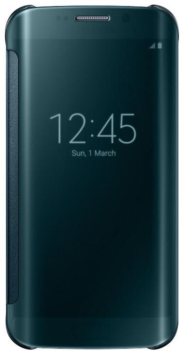Samsung Clear View EF-ZG925B pouzdro pro Galaxy S6 Edge (G925), zelená