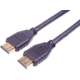 PremiumCord HDMI 2.1 High Speed 8k/60Hz + Ethernet, zlacené konektory, 1m