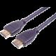 PremiumCord HDMI 2.1 High Speed 8k/60Hz + Ethernet, zlacené konektory, 1m