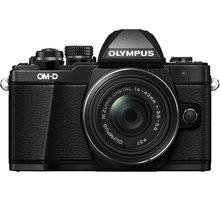 Olympus E-M10 Mark II + 14-42mm EZ, černá/černá - V207052BE000