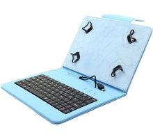 """C-TECH PROTECT NUTKC-01, pouzdro s klávesnicí pro 7-7.85"""", modrá NUTKC-01L"""