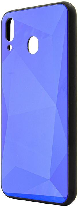 EPICO COLOUR GLASS Case Samsung Galaxy M20, modrá