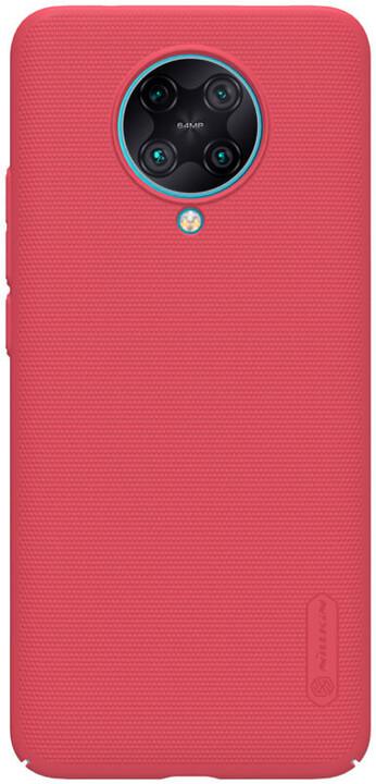 Nillkin zadní kryt Super Frosted pro Xiaomi Poco F2 Pro, světle červená