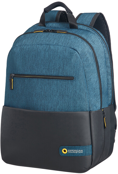 "Samsonite American Tourister CITY DRIFT BACKPACK 15,6"", černá/modrá"