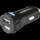 Trust 20W Car Charger with 2 USB ports, černá