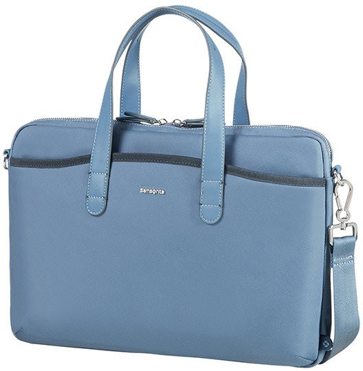 "Samsonite Nefti BAILHANDLE 15.6"" Moonlight Blue/Dark Navy"