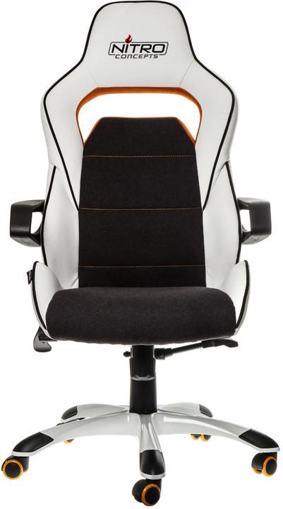 Nitro Concepts E220 Evo, bílá/oranžová