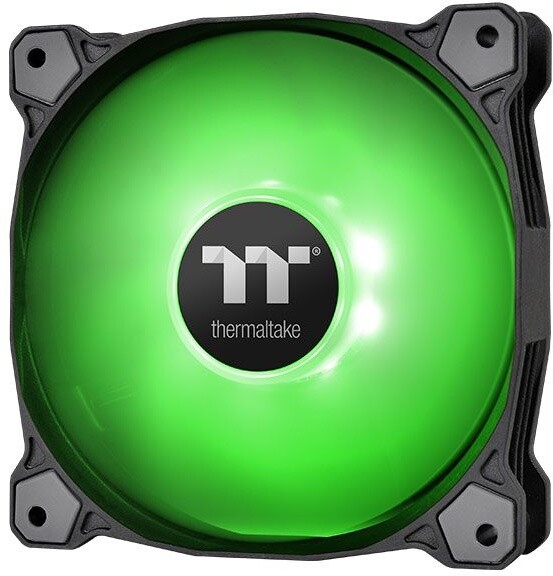 Thermaltake Pure A12 LED, 120mm, zelená