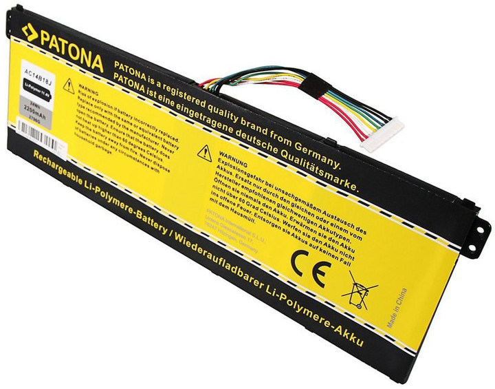 Patona baterie pro ntb Acer Aspire E2-111 2200mAh Li-Pol 11,4V