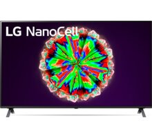 LG 65NANO80 - 164cm Reproduktor Google Home mini (v ceně 1390 Kč) + O2 TV Sport Pack na 3 měsíce (max. 1x na objednávku)