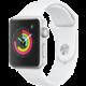Apple Watch Series 3 42mm stříbrný hliník s bílým sportovním řemínkem Epico chranný kryt pro Apple Watch 3 (42mm) v hodnotě 399 Kč
