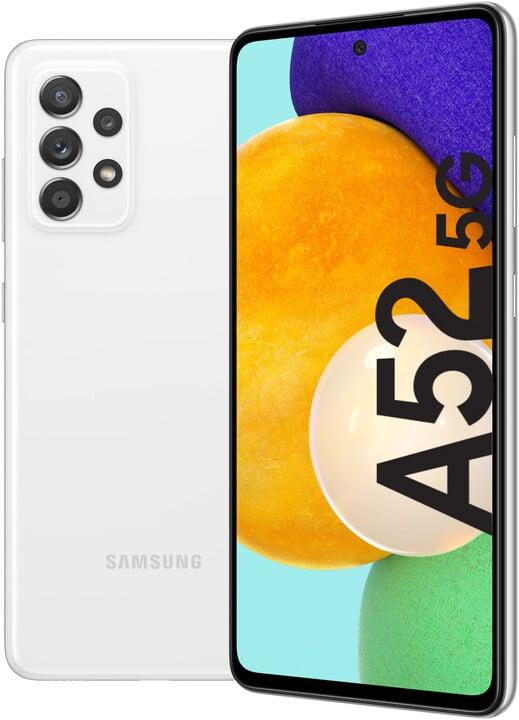 Samsung Galaxy A52 5G, 6GB/128GB, Awesome White