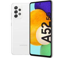 Samsung Galaxy A52 5G, 6GB/128GB, Awesome White - SM-A526BZWDEUE + Antivir Bitdefender Mobile Security for Android 2020, 1 zařízení, 12 měsíců v hodnotě 299 Kč