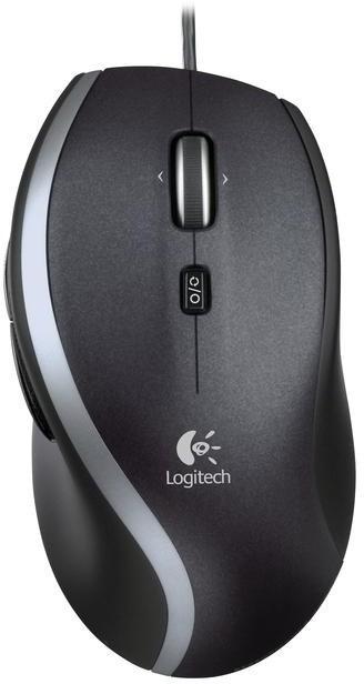 Logitech Corded Mouse M500, černá
